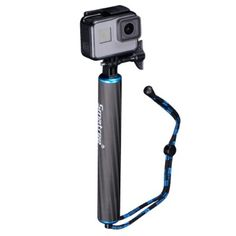 Smatree Waterproof Floating Carbon Fiber Hand Grip Compatible for Gopro Max/ GoPro Hero Hero 2018 Ice Hair, Gopro Hero 5, Fibre Material, Gopro Camera, Selfie Stick, Tripod, Carbon Fiber, Hero 6, Quartos