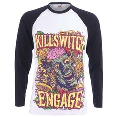 Killswitch Engage Men's Zombie Longsleeve T-Shirt (Black)