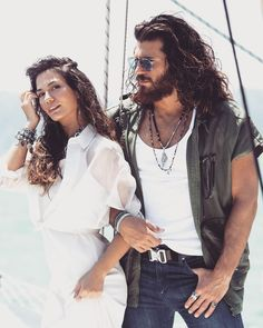 Demet Ozdemir and Can Yamon Turkish Men, Turkish Fashion, Turkish Actors, Wattpad Movies, Vogue Men, Fashion Tv, Glamour, Best Actor, Beautiful Outfits
