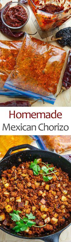Homemade Mexican Chorizo (Fresh Pork Sausage)