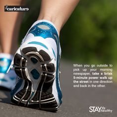 Here's what to do when you're too tied up for a morning walk! #StayFitStayHealthy