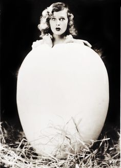Happy Easter!    Lilian Harvey c. 1920's
