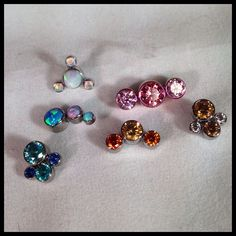 Beautiful assortment of quality clusters from Anatometal. Sold here at Something Beautiful Tattoo & Piercing