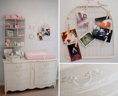 Adorable changing table station