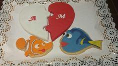 Galletas para 2 pececillos enamorados!