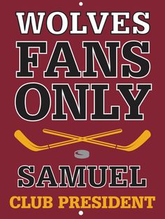 Wolves Custom Personalized Bar Sign  by thepersonalizedstore #ManCave #FathersDay #Groomsmen