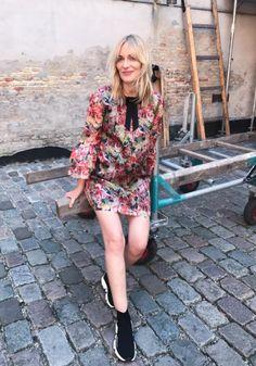 Ganni street style   Marie Hindkær   Seneca Silk Dress