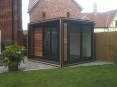 The full length glazing on the Ultra by Smart Garden Offices will flood this room with natural light