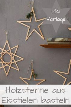Holzsterne basteln Wood Crafts wooden stars for crafts Ideas Decoracion Navidad, Navidad Diy, Wooden Crafts, Wooden Diy, Christmas Crafts, Christmas Decorations, Xmas, Christmas Fashion, Christmas Christmas