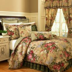 Why doesn't my bedroom ever look like this...even after I spend hundreds  of dollars on new bedding?