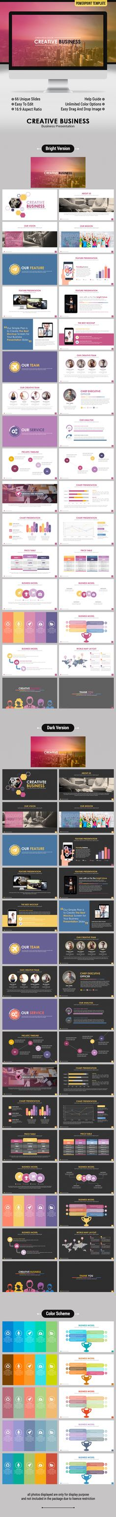 Creative Business PowerPoint Template. Download here…