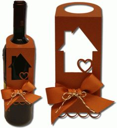 Silhouette Design Store - View Design #80564: new home bottle tag