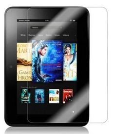$2.18 Shipped On Amazon For 2 HD Kindle Fire Screen Protectors!