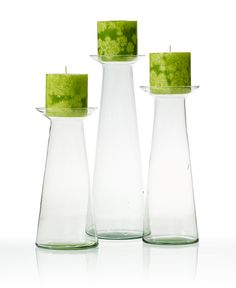 Make our glamour glassware pop with bright bursts of lime green.