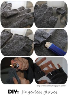 Fingerless Gloves are my favorites.  Can keep warm and still type!  Will be trying this soon!