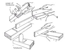 Japanese Carpentry, Japanese Tools, Japanese Woodworking, Woodworking Tools, Joinery, Cutlery, Illusions, Planes, Tech
