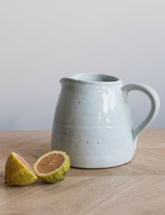 Ceramic Jug at Rose & Grey. Buy online now from Rose & Grey, eclectic home accessories and stylish furniture for vintage and modern living Thrown Pottery, Pottery Bowls, Ceramic Pottery, Pottery Art, Pottery Ideas, Ceramic Plates, Ceramic Art, Ceramic Jugs, Clem