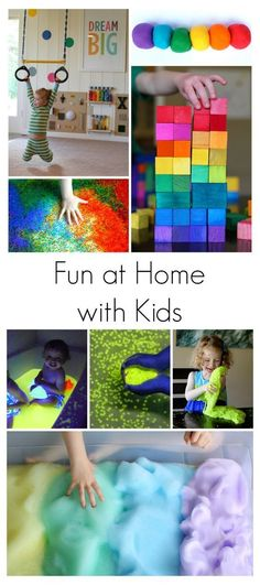 Our 15 Best Activities for Babies, Toddlers, and Preschoolers from Fun at Home with Kids