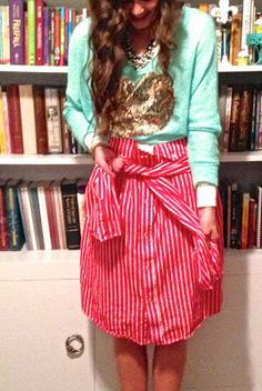 Oh the blissful life: DIY SHIRT SKIRT OH. EM. GEE. GUESS WHO'S GOING TO GOODWILL TOMORROW.