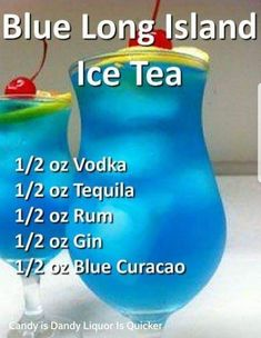 Long Island Ice Tea Anderes Blue Long Island Ice Tea Anderes A delicious tropical cocktail recipe, this Coconut Rum Punch tastes like sunshine! A fun party cocktail for summer. The REAL Long Island Iced Tea Drinks Alcoholicas, Easy Alcoholic Drinks, Alcholic Drinks, Blue Drinks, Liquor Drinks, Fancy Drinks, Frozen Drinks, Refreshing Drinks, Cocktail Drinks