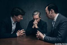 SHERLOCK S4 E3: The Final Problem. Benedict Cumberbatch, Martin Freeman, Mark Gatiss