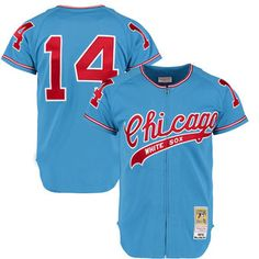 Men's Chicago 1972 White Sox Bill Melton Mitchell & Ness Blue Authentic Throwback Jersey