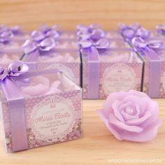 rosas mini, lembrancinhas - Empório Coralina