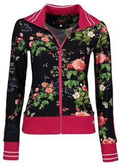 King Louie, Floral Fashion, Catwalks, Spring Summer, Clear Spring, Vest, Sporty, Zip, Cotton