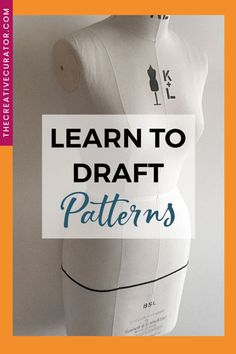Wanna learn pattern making? Pattern drafting is a great skill to learn for anyone wanting to make your own sewing patterns, because made to measure sewing patterns mean better fitting clothes and more creative sewing! Don't let fear of pattern drafting hold you back. These FREE pattern drafting tutorials will help you draft your own patterns with confidence, whether you start with the bodice sloper and sleeve or the trouser sloper. Beginner Sewing Patterns, Sewing Stitches, Free Sewing, Sewing Lessons, Sewing Hacks, Sewing Tutorials, Sewing Tips, Free Tutorials, Sewing Basics