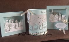 """Atelier Carterie """" carte lumineuse"""" - Stampin'Up! Party"""