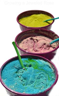 Kid Made Puffy Sand Paint- making the paint is so fun for kids, and it is great for arts, crafts, and sensory play!