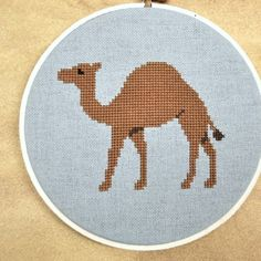 Camel Counted Cross Stitch Pattern PDF by Sewingseed on Etsy, $4.00