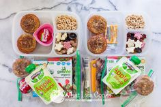 Easy packed school lunch from WhatLisaCooks.com