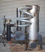 Gasifier to convert wood into fuel.  Want to build one of these by Thanksgiving!