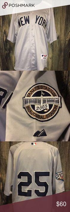 NY Yankees jersey NWT NWT NY Yankees jersey! Shirts Casual Button Down Shirts
