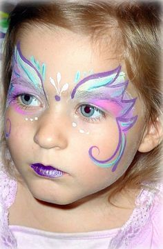 Resultado de imagen de small face paint ideas