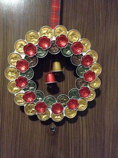 Corona Nespresso 2012. Nespresso wreath