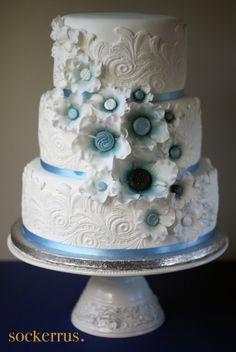 pretty texture cake