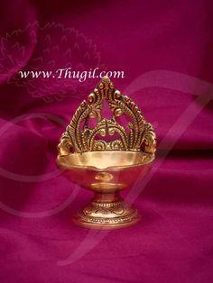 Indian design Brass lamp available at best price Corner Shelves Living Room, Brass Diyas, Diya Lamp, Salvaged Decor, Silver Pooja Items, Diy Diwali Decorations, Wedding Saree Collection, Pooja Room Design, Puja Room
