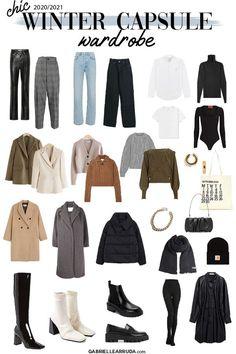 Capsule Wardrobe Women, Capsule Outfits, Fashion Capsule, Mode Outfits, Wardrobe Basics, French Capsule Wardrobe, Closet Basics, Work Wardrobe, Wardrobe Staples