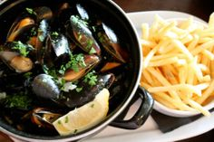 Eat More Fish - Moules Frites | Lover Of Creating Flavours