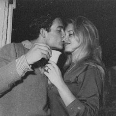 "missbrigittebardot: "" Brigitte Bardot and Jacques Charrier. What a cute couple they were ! Brigitte Bardot, Love Couple, Couple Goals, White Couple, Couple Ideas, Couple Stuff, Perfect Couple, Sweet Couple, Beautiful Couple"