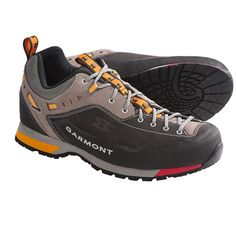Garmont Dragontail Lite Approach Shoes (For Men) in Shark/Taupe