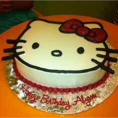 Hello Kitty Birthday Cake! Happy Birthday Alyssa! :)