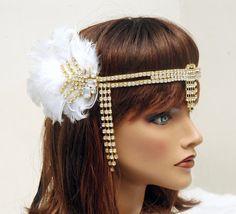 1920's Flapper HeadpieceVintage Inspired by AyansiWeddingDesigns