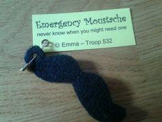 Emergency moustache swap