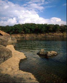 Lake Tenkiller on the Illinois River, Cookson Hills