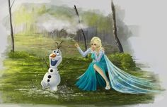 Elsa (Frozen) by Akai-Monkey on DeviantArt