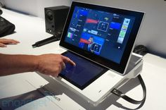 Sony Anycast Touch live-broadcasting system hands-on (video)