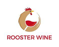 Logo Design - Rooster wine